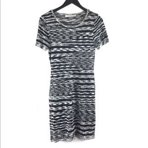Trina Turk Jacquard Ponte Sheath Print Dress